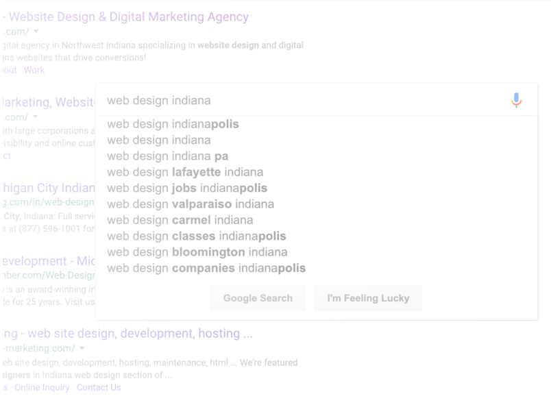 search engine marketing shows your site at top of search results