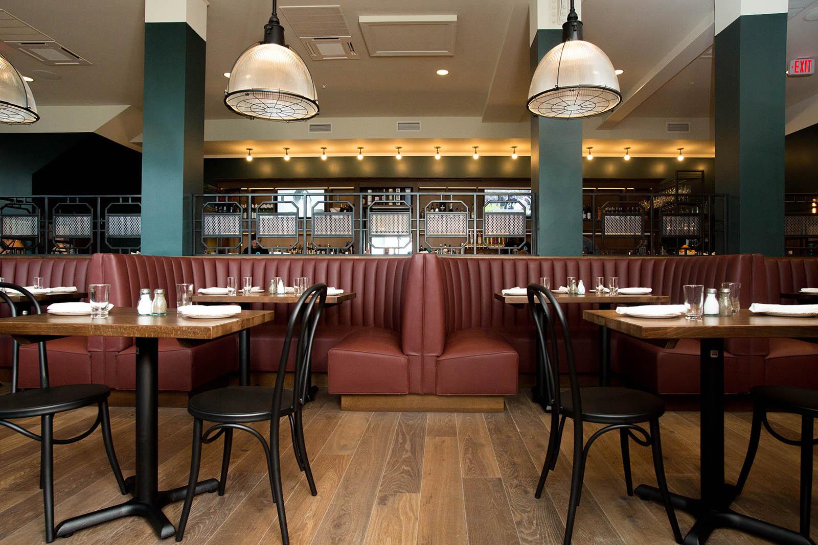 Location photography interior dining